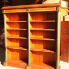 A bookcase from Larnach Castle found in a second-hand store in Christchurch. Photo supplied.