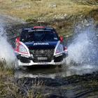 Dunedin's Emma Gilmour and co-driver Anthony McLoughlin will be trying to bring home the runner...