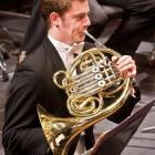 French horn player Samuel Jacobs visits Dunedin with the New Zealand Symphony Orchestra tonight....