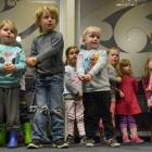 Children from the Dunedin Hospital Early Childhood Centre perform an action song during the Kids...