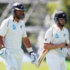 Ross Taylor and Kane Williamson. Photo: Getty Images