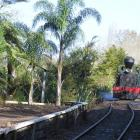 Kawakawa's Bay of Island's Vintage Railway, the  30-tonne 1927 steam engine Gabriel. Photos by...