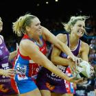 Laura Geitz (R) was one to speak out against the two-point rule. Photo: Getty Images