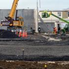 Construction is set to help economic confidence in Otago. PHOTO: GERARD O'BRIEN