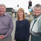 Waitaki Safer Community Trust restorative justice co-ordinator Derek Beveridge, trust chairwoman...