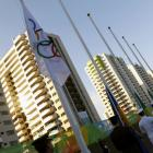 The Australian team was robbed at the Olympic village. Photo: Reuters
