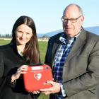 Otago Racing Club chief executive Hannah Catchpole and Beaumont Racing Club president Phil...