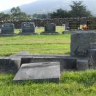 Len Doherty believes damage to gravestones in the West Taieri Cemetery was more likely to have...