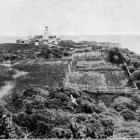 Puysegur Point lighthouse and surroundings, Foveaux Strait. - Otago Witness, 9.8.1916.