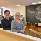 Building owners Jason and Kate Lindsey in the redeveloped second floor of the 150-year-old former...