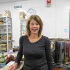 Ocho Chocolate founder Liz Rowe stands in her chocolate factory in Vogel St. Photo: Tenoch King