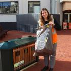 Keep Dunedin Beautiful co-ordinator Ashlea Muston is all set for Clean Up New Zealand Week next...