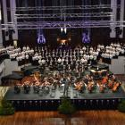 The Dunedin City Choir and the Southern Sinfonia perform in the Dunedin Town Hall. Photo by Peter...