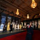 The exhibition at Buckingham Palace is one of three to be held. Photo: Reuters