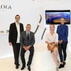 The Revology design-tech start-up team (from left) Philippe Guichard, Alex Guichard, Monique...