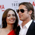 Brad Pitt and Angelina Jolie. Photo Reuters