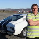 Jason McFadyen, of Alexandra, will not drive his Mustang at the cancelled Thunder Sunday Blossom...