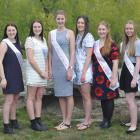 Princesses (from left) Sarah Vilela (Alexandra Musical Society), Alisha Cradock (Breen...