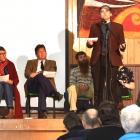 Participating in a Unions Otago Mayoral Candidates Forum at Dunedin North Intermediate School...