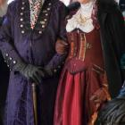 The judges for this year's Steampunk Fashion Show, known as Colonel Sir Julius Hawthorne and Mrs Hudson (the younger). Photo: Supplied