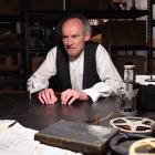 Simon O'Connor stars in Krapp's Last Tape. Photo by Gregor Richardson.