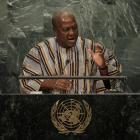 President John Mahama of Ghana addressed the UN and called for them to take a leaf from the King...