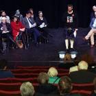 Greater South Dunedin Community Group acting chairman Philip Gilchrist introduces candidates at a...