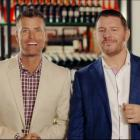 Australian celebrity chefs Pete Evans (left) and Manu Feidel will be judges on the next series of...