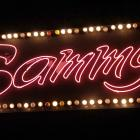 Sammy's neon sign on Crawford Street.