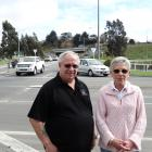 Waldronville residents Mike  and Helen Geddes want some problematic Green Island  intersections...