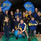 Athletics Taieri club members show their support for Otago Paralympian Holly Robinson, who will...