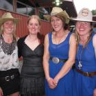 The winner of  2014s Speight's Perfect Woman competition  was KJ McNoe (second from right), of...