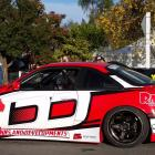 The Nissan Silvia S14, newly acquired by Christchurch driver Phil Sutherland, waits for action at...