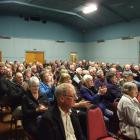 A round of applause greets plans for an upgraded health facility in Ranfurly. Photo by Lynda van...