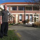 Maniototo Health Services Ltd manager Geoff Foster in front of the Maniototo Hospital, which will...