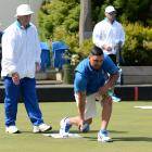 Shannon McIlroy delivers a bowl during the NEV Invitation Singles at the North East Valley...