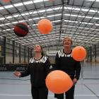 Cross Recreation Centre manager Penny Batchelor (right) and assistant manager Rachel Lean get...