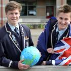 King's High School pupils Malachi Buschl (left) and Jonty Wispinski (both 16), have been chosen...