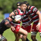 Augustine Pulu in action for Counties-Manukau earlier this season. Photo: Getty Images