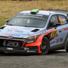Hayden Paddon in action. Photo: Getty Images