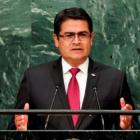 Honduras' President Hernandez said last year that his 2013 presidential campaign took money from...