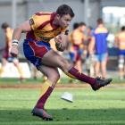 Josh Casey has a round trip of three hours to attend training with his North Otago team-mates....
