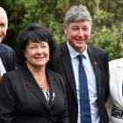 New Otago regional councillors (from left) Michael Laws, Maggie Lawton, Andrew Noone and Carmen...