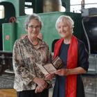 University of Otago Emeritus Prof Helen Leach (left) and Southern Heritage Trust founder Ann...