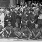Invalided soldiers who arrived home by the Palooma were entertained at the Early Settlers' Hall,...