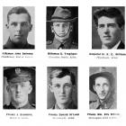 Soldiers from the south who have been killed in action. From left: Rifleman John Swinney ...