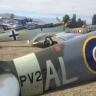 Warbirds ready to fly at the airshow.