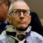 Robert Durst appears in court. Photo: Reuters