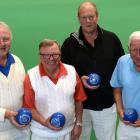 The Dunedin  Southern men's team of  (from left) Ross Munro, Mike Bankier, Steve Pulley and...