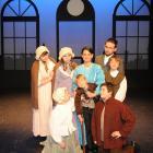 The cast of A Christmas Carol. Photo by Christine O'Connor.